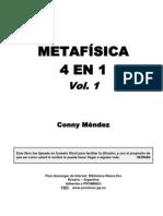 conny mendez - metafisica 4 en 1 vol 1 y 2