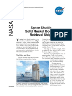 NASA Facts Space Shuttle Solid Rocket Booster Retrieval Ships 2004