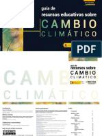 Guía didáctica cambio climático