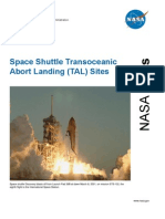 NASA Facts Space Shuttle Transoceanic Abort Landing (TAL) Sites 2006