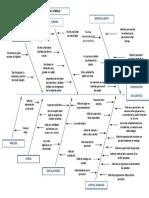 DIAGRAMA-DE-ISHIKAWA DISMINUCION DE LA CLIENTELA