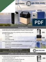 Generadores Solares Portátiles