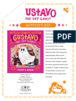 Gustavo, the Shy Ghost by Flavia Z. Drago Activity Kit