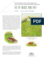 The House of Grass and Sky by Mary Lyn Ray and E.B. Goodale Press Release