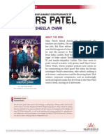 The Unexplainable Disappearance of Mars Patel by Sheela Chari Discussion Guide