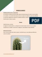 Manual Básico Cactus y Suculentas