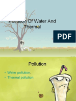 THERMAL AND WATER POLLUTION