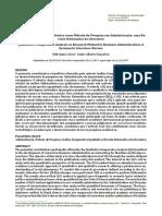 Análise Comparativa Qualitativa como Método de Pesquisa em Administração