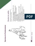 Ejemplos de ejercicio de Fortalecimiento  adulto mayor