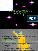 HUMAN LOCOMOTION AND MOVEMENT