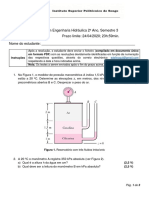 Teste 1-Hidraulica I-2020