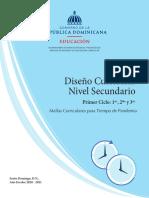 Mallas Curriculares para Tiempo de Pandemia - Secundario 1er ciclo.pdf