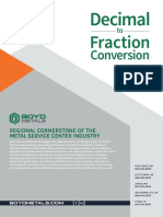 Decimal to Fraction Conversion [Boyd Metals]