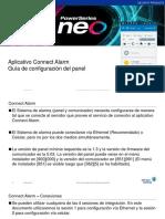 Connect Alarm - Configuración del panel (PC) APP