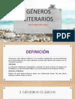 GÉNEROS LITERARIOS- QUINTO PRIMARIA
