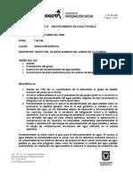 ACTA ABASTECIMIENTO DE AGUA POTABLE