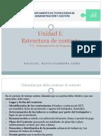 PPT Estructura de contrato