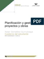 gonzalez-Planificación y gestión de proyectos y obras
