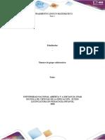 Plantilla de trabajo - Paso 2 - Reconocer los procesos y contenidos para el DPLM en la educación infantil -grupal
