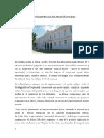 Contextualización Escuela N° 1 Nicolas Avellaneda