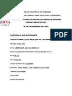 PORTAFOLIO DE MEDICINA DEL DESASTRE