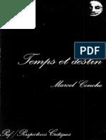 Temps et destin - Marcel Conché.pdf