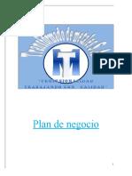 Resumen- Plan de negocio Metales SA