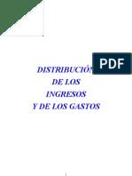DISTRIBUCIÓN INGRESOS GASTOS 2010