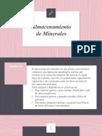 Almacenamiento de Minerales.pptx