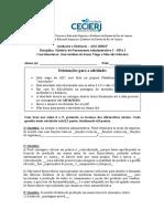 Atividade II da AD2 de HPA I 2020 2º
