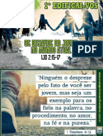 1º EDIFICAIVOS - OS DESAFIOS
