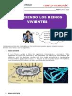 CLASE DE CIENCIA Y TECNOLOGÌA DEL 22-04-2020