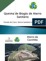 Queima de Biogás de Aterro Sanitário