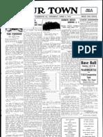 Our Town April 6, 1916