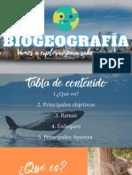 Biogeografía 8°