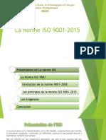 Présentation ISO9001-2015