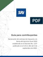 Guía para la declaración del anticipo del Impuesto a la Renta obligatorio.pdf