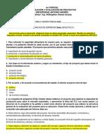 1er Parcial Formulacion y Evaluacion