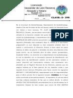 ACTA DE RESPONSABILIDAD.