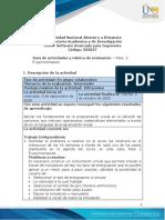 Guía de actividades y rúbrica de evaluación - Unidad 1 - Paso 2 - Experimentación.pdf