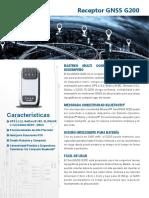 Receptor GNSS G200_SP