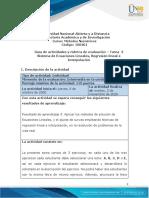 Guia de actividades y Rúbrica de evaluación-Unidad-2-Tarea-3-Sistema de Ecuaciones Lineales, Ajuste de Curvas e Interpolación Numérica