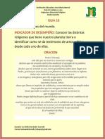 GUIA 10 DE RELIGION