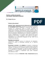 Taller Sistematización de la información e identificación de las necesidades de formación