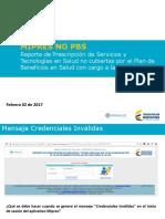 Credenciales Invalidas en Ingreso a MIPRES