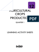 SHS Agricultural Crops Production