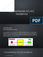 Convertidores AC-AC Modernos