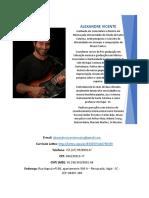 Portfolio Alexandre Vicente 2020