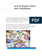 Economía de la Región Caribe de Colombia