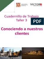 ESCALA-Cuadernillo de Trabajo Taller 3 Conociendo a nuestros clientes